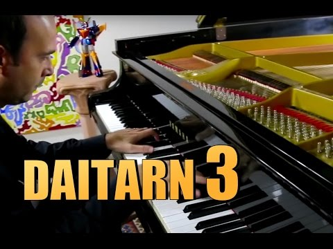 DAITARN III - 3 - Sigla -  Piano Cover - Micronauti Vince Tempera