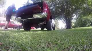 2006 Dodge Ram 5 9 Cummins Stock Exhaust vs Diamond Eye 5 inch Straight Pipe