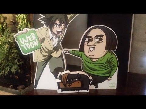 WE VISIT NAVER WEBTOONS AND LINE - Nicholalala Webtoon
