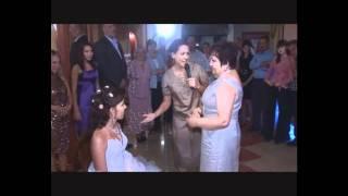 Снятие фаты  Танец с папой