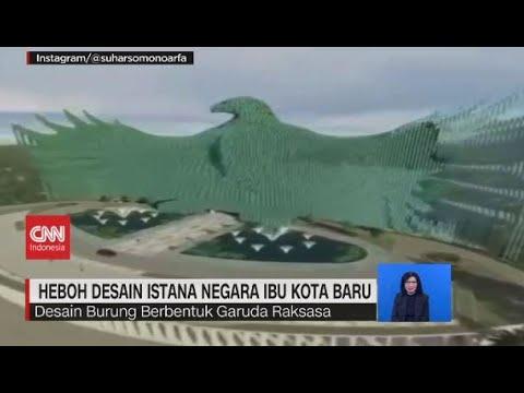 Heboh Desain Istana Negara Ibu Kota Baru