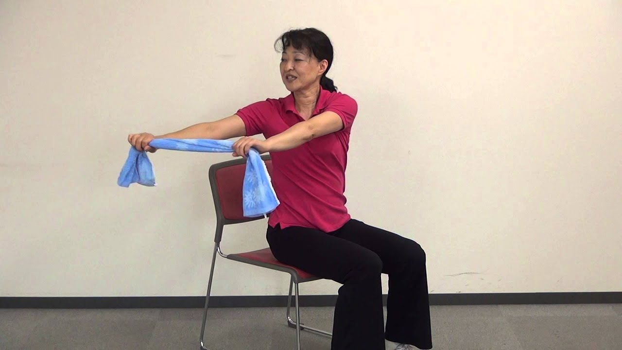 高齢者向けタオル体操をやってみよう生活科学運営 Youtube