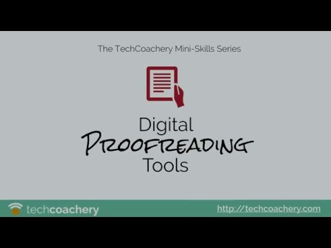 Proofreading Apps