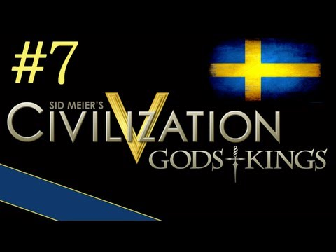 "Civilization 5: Gods & Kings - Sweden ep. 7 ""Time To Expand"""