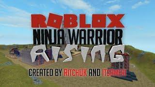 Roblox ninja Warrior Rising trailer