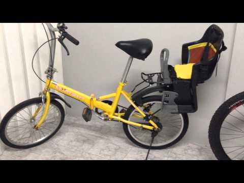 รีวิว Bike Seat  ที่นั่งเด็กติดจักรยาน