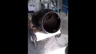 D.i.y. Wheelbarrow Concrete Mixer