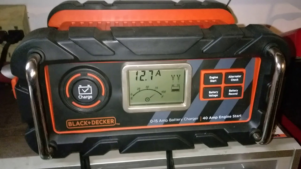 Bc15bd Black And Decker Battery Charger And Reconditioner Product