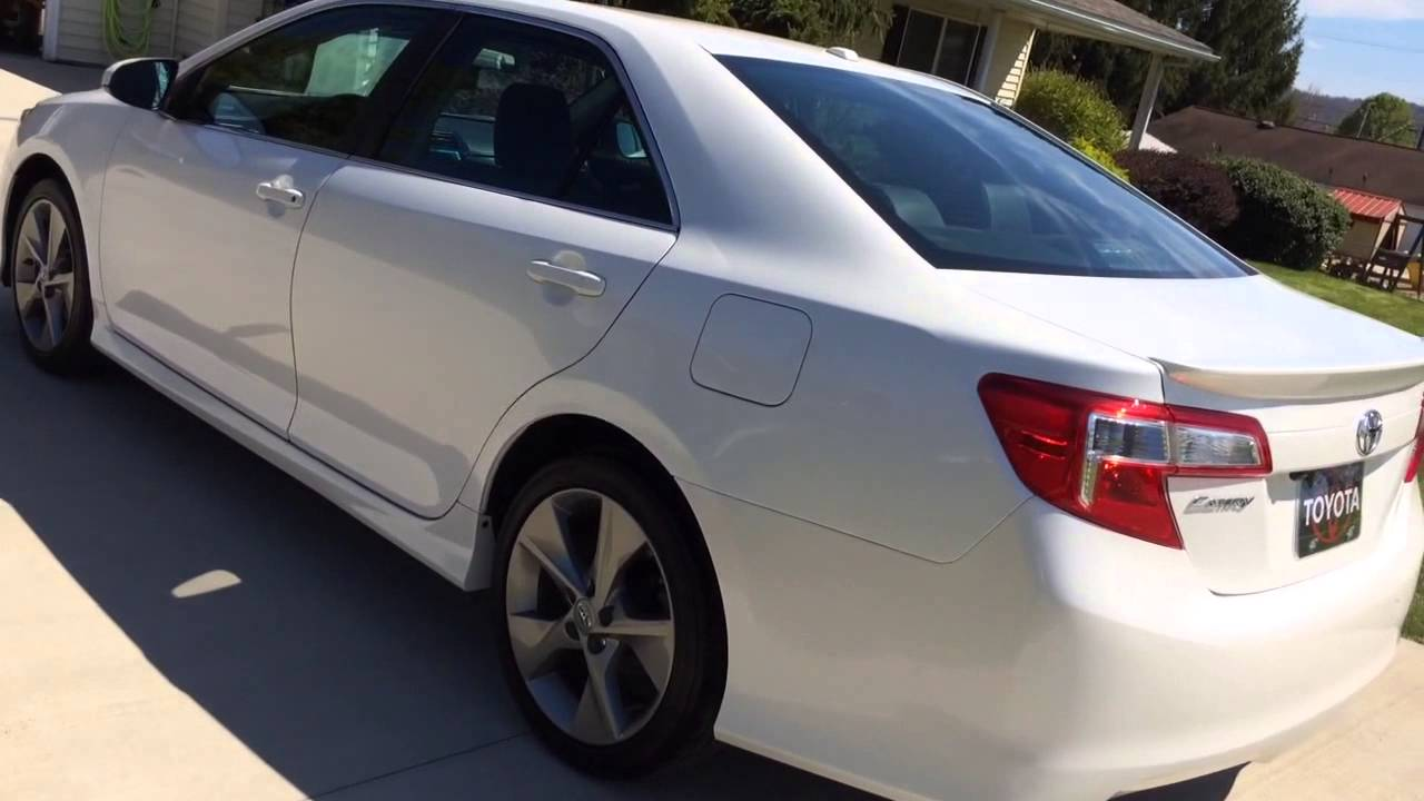 2012 Toyota Camry For Sale >> 2012 Toyota Camry Se 1 Lady Owner Garaged Non Smoker Since New For Sale Ebay