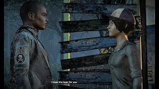 Scumbag Clem vs Ava, thicker than water days The Walking Dead New Frontier