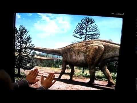 Natural History Museum in Berlin - dinosaurus - animation