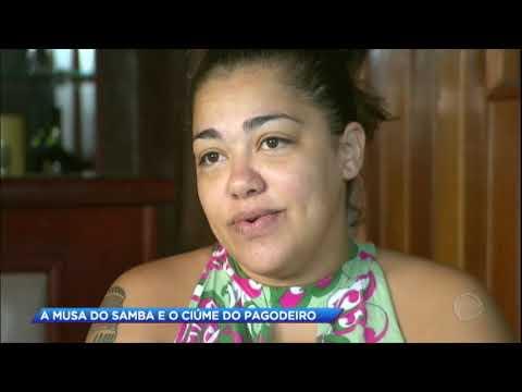 Musa de escola de samba denuncia ex-marido por agressão
