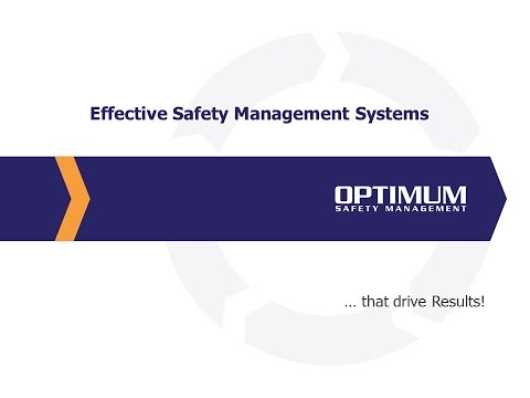 Effective Safety Management Systems that Drive Results [OSHA