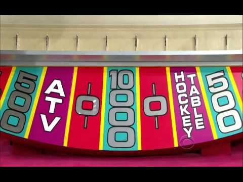 The Price is Right- Plinko Day- 27th September 2013