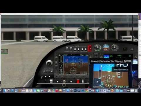 GARMIN G1000 PARA IPAD X-PLANE/FSX