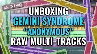 """Gemini Syndrome """"Anonymous"""" raw multi-tracks [ UNBOXING ]"""