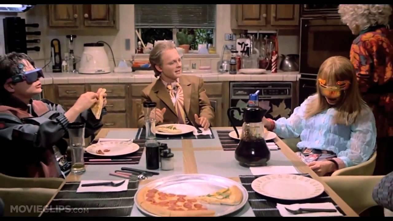 Resultado de imagen de Back to the Future Part II pizza