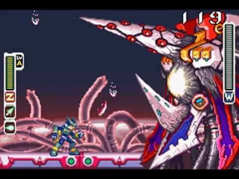 Megaman Zero 4 Junk Armor Omega 7-Hit vs Dr. Weil (2nd Form) Quick ...