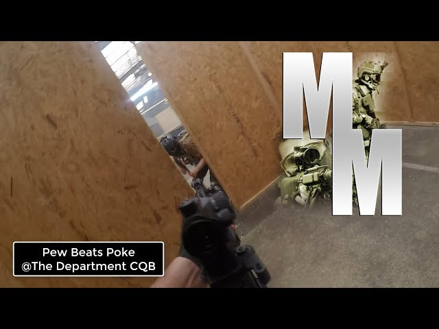Pew beats Poke @Thedepartmentcqb