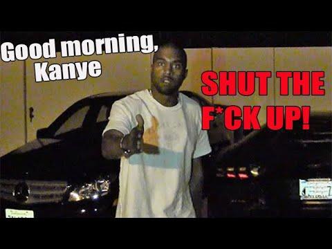 Kanye West Tells Paparazzi Shut The F Up The Original Youtube