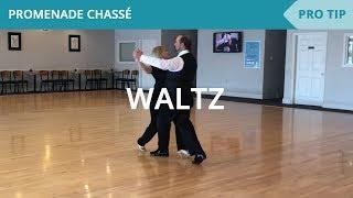 Waltz: Promenade Chassé - Ballroom Dance Lesson