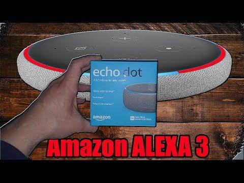How to basic set up Amazon Alexa 3rd generation