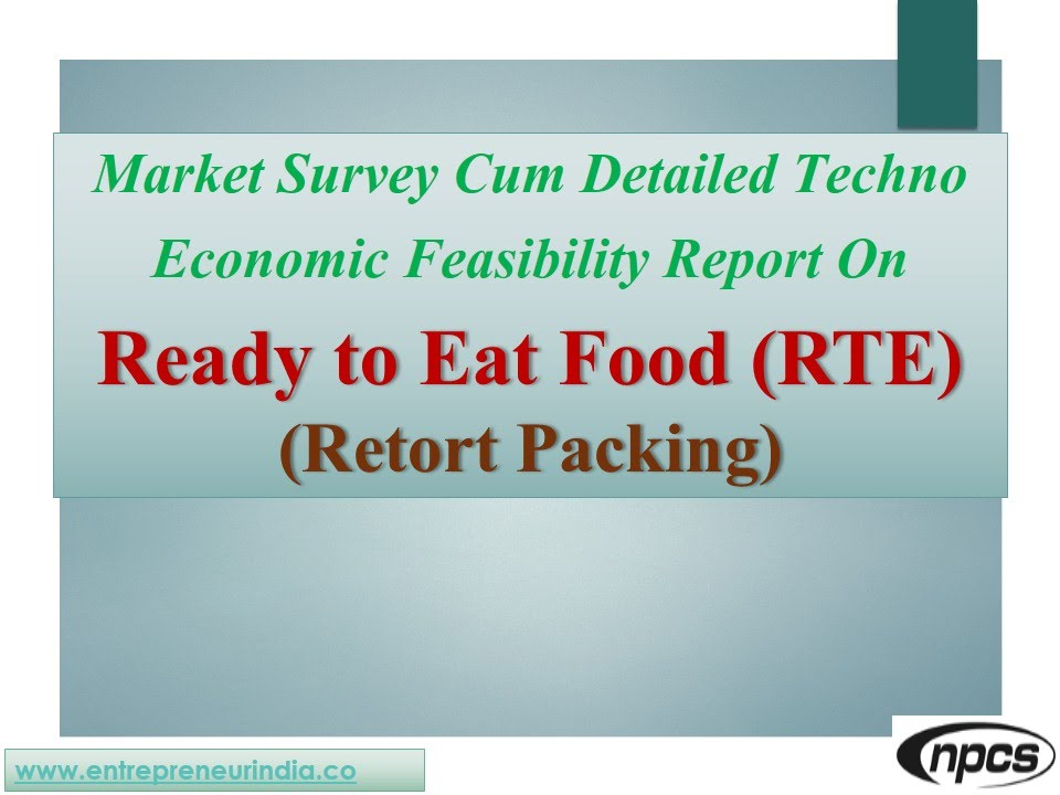 ready to eat food market The global ready-to-eat foods market is projected to register a healthy cagr of 72% during the forecast period (2016-2026), according to a report produced by future market insights, valley cottage, ny.