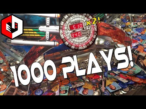 1000 Plays RAPIDFIRE ACTIVATED | Star Trek Coin Pusher Arcade Game at Dave and Busters
