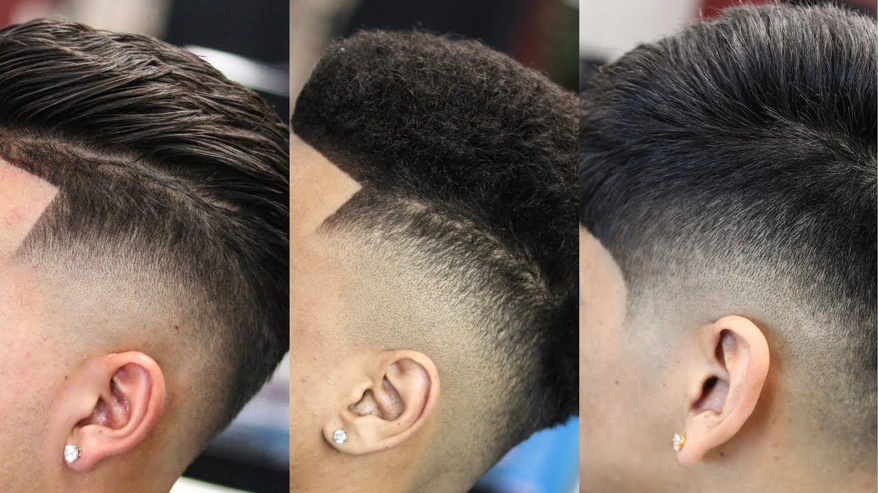 Difference Between A Low Fade Vs Drop Fade Youtube