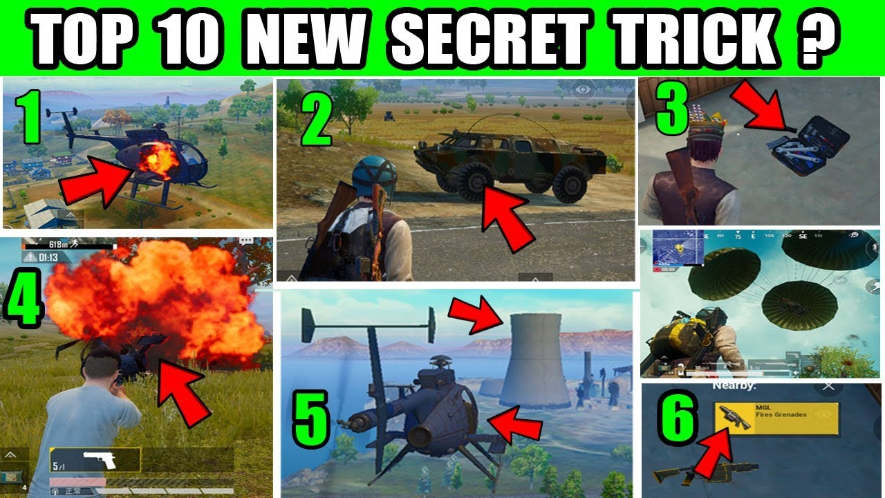 PUBG MOBILE New Update Payload mode ? Top 10 New Secret Tips And Trick ?