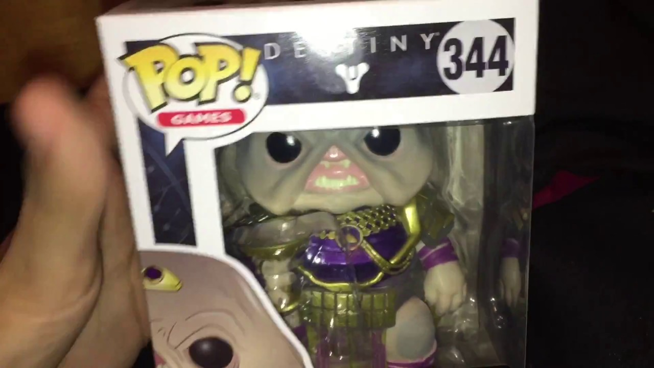 5e5cce4a9f7 Funko pop review Destiny emperor calus - YouTube