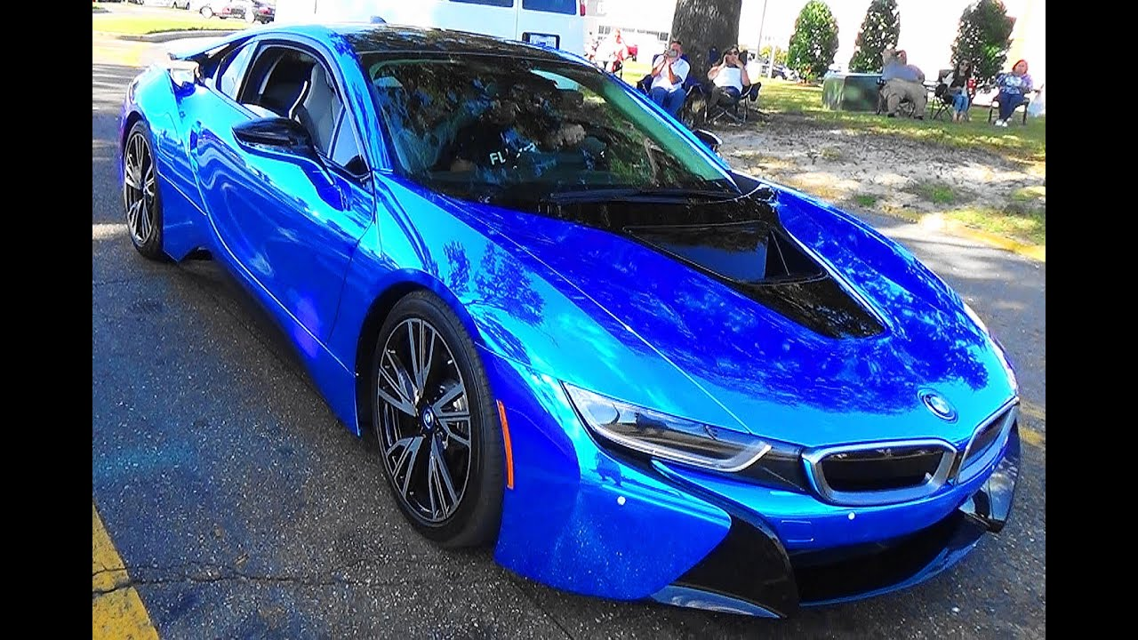 2015 Bmw I8 Blue Chrome Cruisin The Coast 2015 Youtube