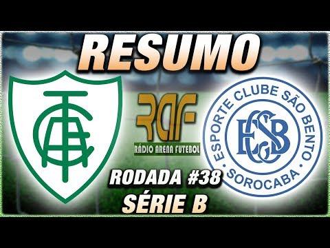 AméricaMG x SãoBento Ao Vivo l Campeonato Brasileiro Série B