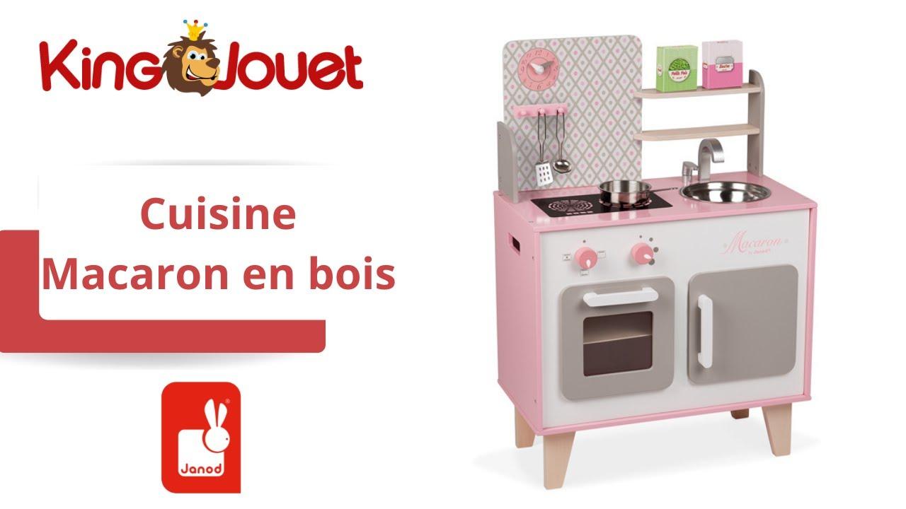 Cuisine Macaron En Bois Janod King Jouet Cuisine Et Dinette