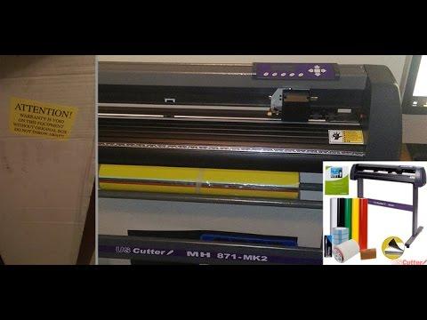 USCutter MH871-MK2 - Vinyl Cutter (What's in the Box)