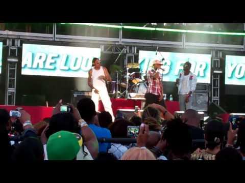 "Vybz Kartel @ Reggae Sumfest, MoBay 7-21-11 Performing ""Hot Grabba/Sick Head,Sick Head/Cake Soap"""
