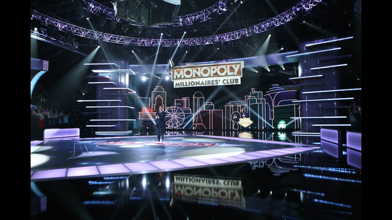 Introducing the MONOPOLY MILLIONAIRES' CLUB TV Game Show - YouTube