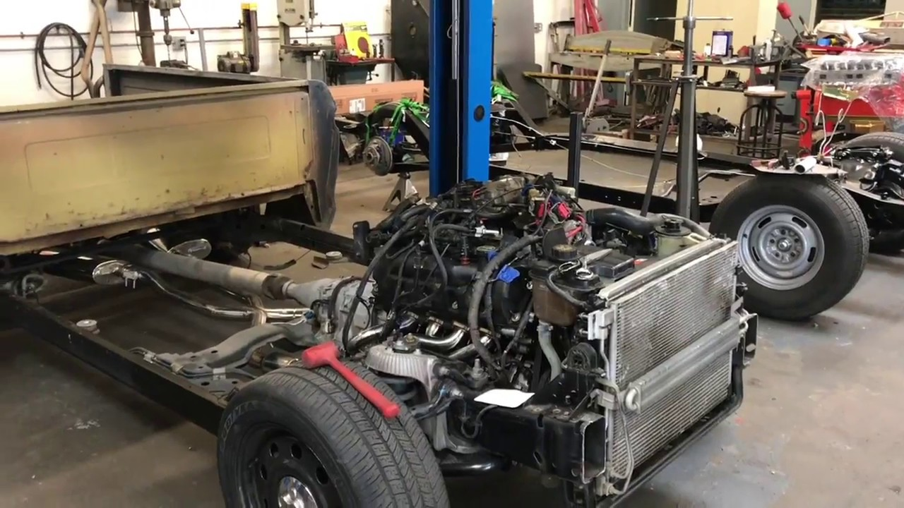 F100/ Crown vic frame swap - Ford Truck Enthusiasts Forums