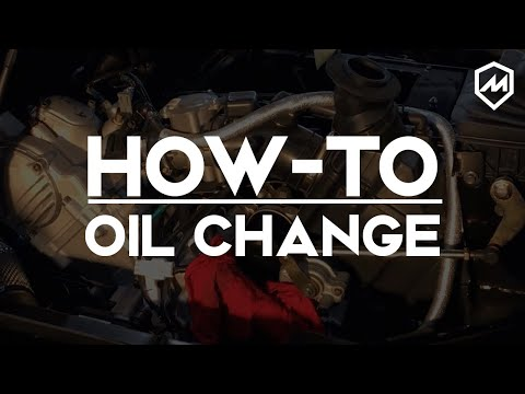 MASSIMO MOTOR | HOW TO | OIL CHANGE - YouTube