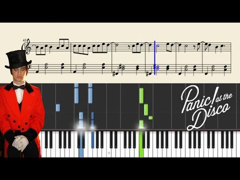 Panic! At The Disco: I Write Sins Not Tragedies - Piano Tutorial + SHEETS