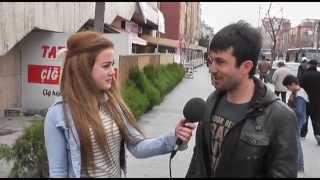 Niğde'de Sokak Röportajları