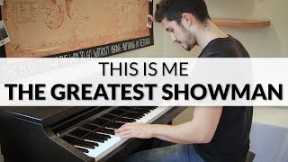Download Lagu The Greatest Showman - This Is Me (Keala Settle) | Piano Cover Mp3