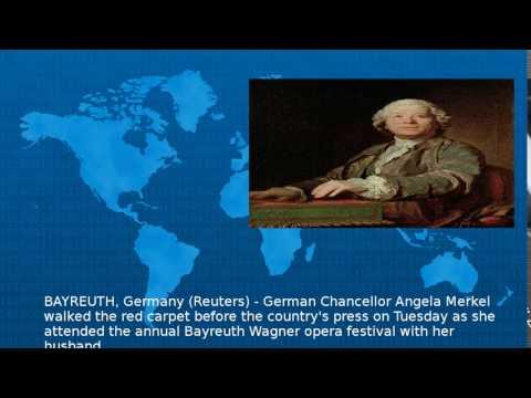 Wagner-Loving Merkel Has Night At Opera With Husband  - Wiki