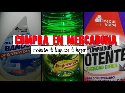 Compra mercadona i productos de limpieza youtube for Productos limpieza coche mercadona