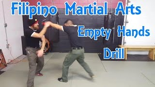 Filipino Martial Arts | Empty Hand Form And Pad Drill