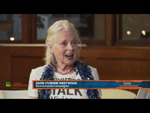 """Vivienne Westwood on why the """"Rotten Financial System is the Enemy"""""""