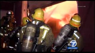 October 19, 2014: Lafd Greater Alarm Fire In Boyle Heights