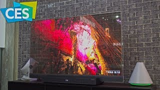 CES 2019 - The Future of TV Screens - 8K and Transparent Displays !