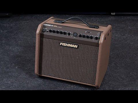 Fishman Loudbox Mini Charge Amplifier - Acoustic Review