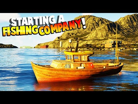 STARTING MY OWN FISHING COMPANY AND GETTING RICH! FISHING SIMULATOR! - Fishing: Barents Sea Gameplay